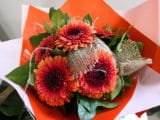 Bouquet rond de minis gerberas