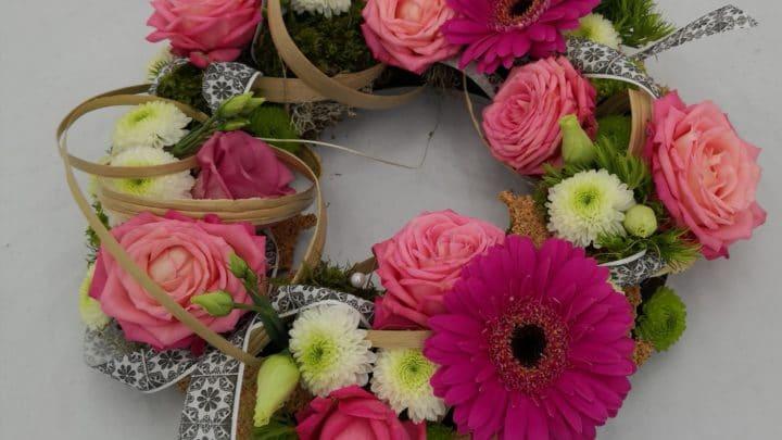 Cours art floral  adulte «juin»
