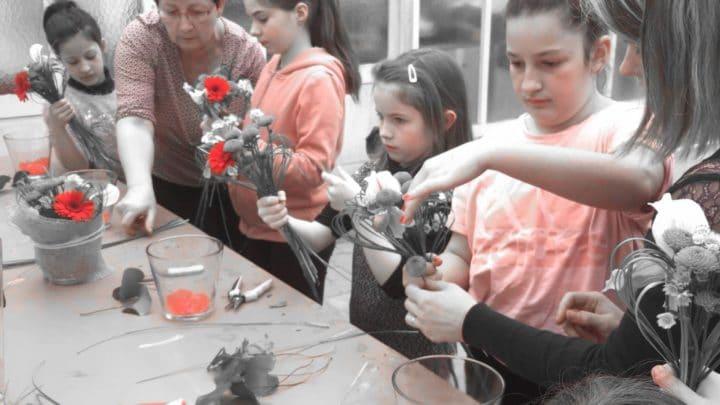 Les Ateliers LM-cours art floral Adulte & enfant