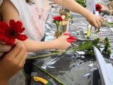 Anniversaire-atelier -cours art floral enfants